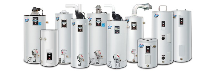 Hot Water heaters from Bradford White