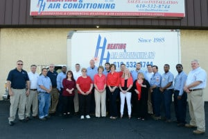 heating and air conditioning company in Villanova