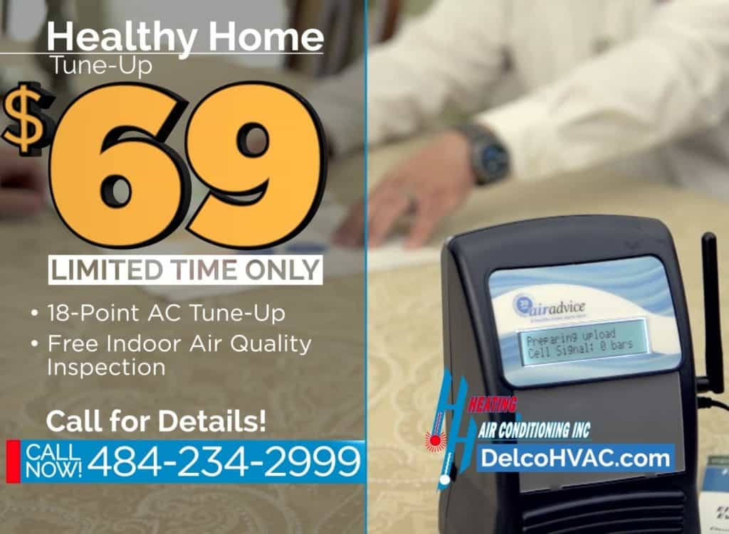 H&H Healthy Home AC Tuneup for 69 dollars