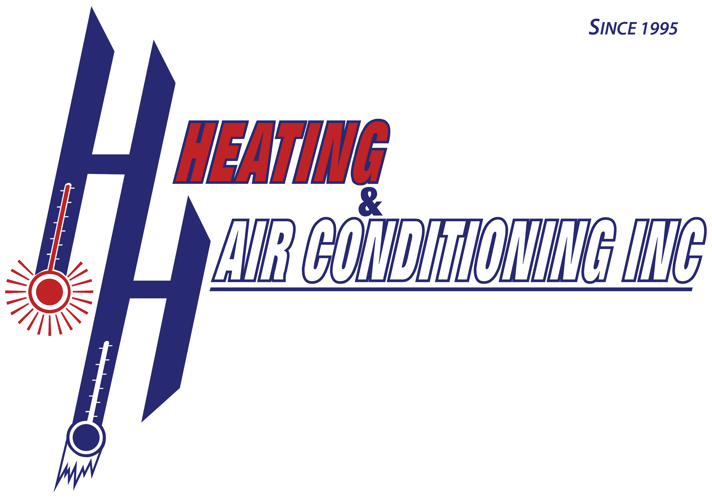 Heating and Air Conditioning Services Company Logo
