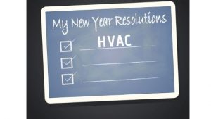 Add HVAC to your New Year's Resolution list